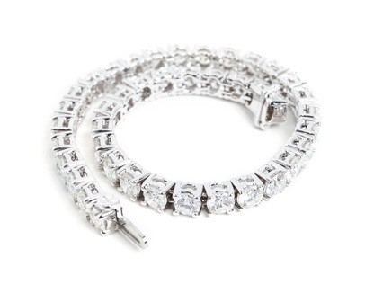 Classic Diamond Tennis Bracelt