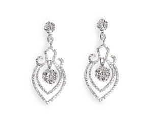 Bridal earrings - Dominion Jewelers