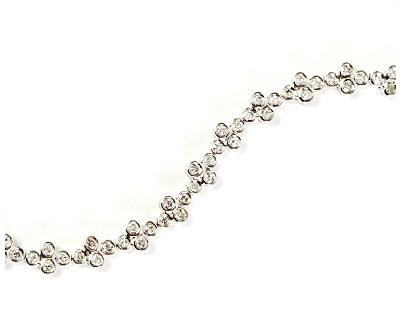 Garland Diamond Bracelet