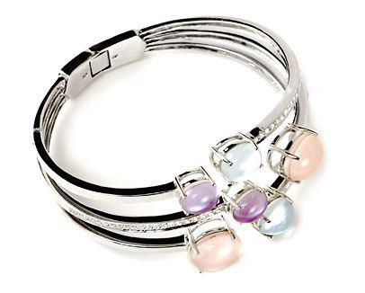Multicolor Gemstone Bangle