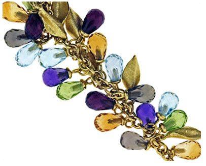 Semiprecious Gemstone Bracelet