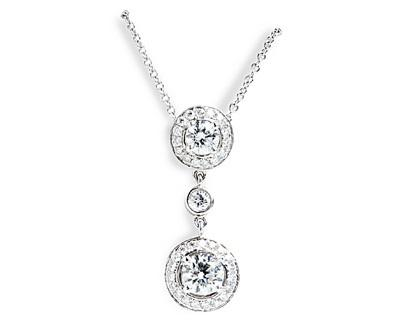 Tiered Diamond Pendant
